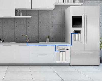 מערכת טיהור מים מרכזית למטבח <span class=