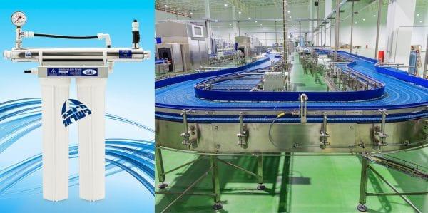 מערכת סינון וטיהור תעשייתית דגם – MR 33-20 UV